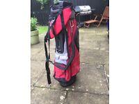 Power Bilt Golf Bag & Golf Balls