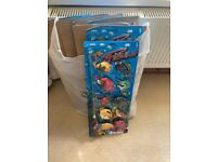 Toy Fishing rods and fish x8