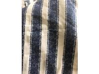 2 x Nautical stripe brushed cotton duvet sets