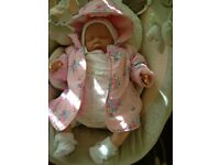 REBORN DOLL BABY LITTLE GIRL CHILD FRIENDLY NOW A PLAY DOLL FROM 4YRS PLUS