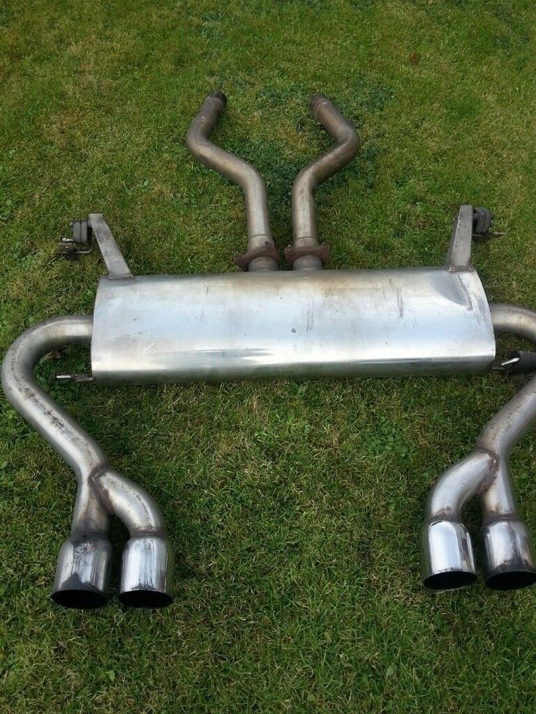 RANGE ROVER L322 td6 4.4 V8 2002-2005 'DOUBLE S' STAINLESS STEEL EXHAUST
