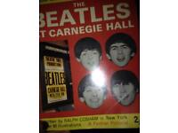 Beatles at Carnegie hall collectors item excellent condition