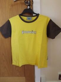 Girls Brownies T-Shirt Size 90 cm Chest