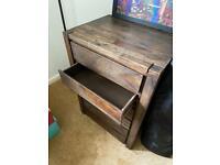 Mango oak chest of drawers