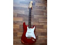 Fender Stratocaster - Candy Red w/ Seymour Duncan Upgrade & Case. Recently Setup.