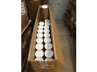 18 Large Cardboard Postal / Mailing Tubes (100cm Length)