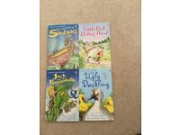 4 Usborne Young and First Reading Books