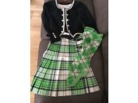 Highland dancing outfit for sale. As new only worn once