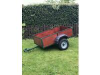 Newly reconditioned 5x3 trailer