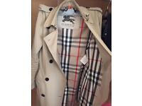 Genuine Burberry classic Trench coat £400