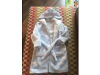 Sainsbury's TU Pale Blue Dressing Gown age 12-18 months