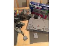 Ps1 console bundle + 12 games (Playstation)