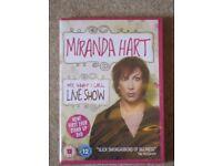 Miranda Hart, 'My, What I Call, Live Show' DVD