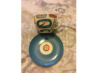 Cath Kidston mug and saucer