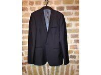 Red Herring Mens Suit Grey 38L Jacket / 32 Trousers