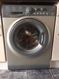 Grey hotpoint 6kg perfect condition washing machine.