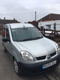 Renault Kangoo adapted mobility car,excellent condition genuine 83000 miles,not til august
