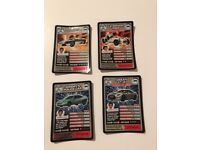 *Very Rare* Top Gear Collector Cards-Very Good Condition
