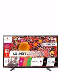 BRAND NEW IN BOX LG 49UH603V 49 inch Ultra HD 4K, HDR Pro, Smart TV