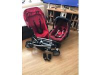 Quinny Zapp extra and maxi cosi pebble car seat