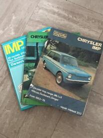 Car manual collectibles bundle