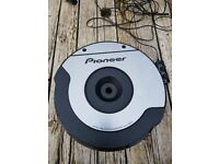 **PIONEER TS-WX610A SPARE TYRE ACTIVE CAR SUBWOOFER BANDPASS SUB 10 INCH - BUILT IN AMPLIFIER AMP**