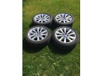 BMW 5 series 18 inch alloys wheels