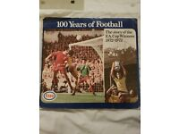 Football 100 year coin collection