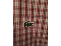 lacoste shirt original not fake excellent condition