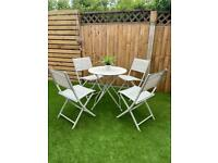 Garden Table and Chairs. Garden furniture. Patio set