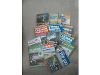 Collection of caravan site books