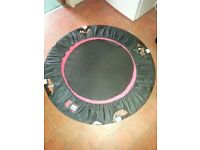 Mini trampoline, hours of summer holiday fun for your kids in the garden or indoors.