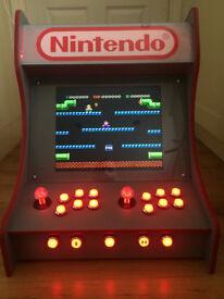 Nintendo Themed Bartop Arcade Machine