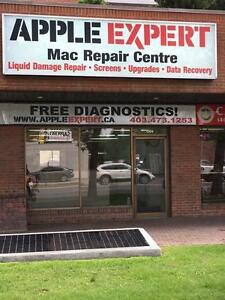 MacBook repair center Calgary .Every thing is Fixable in1 day.6 months warranty..Free estimate . no appointment needed