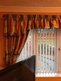 Curtains ( Bespoke and fully lined )