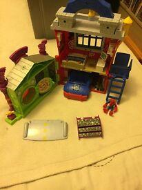 Spider-Man house play set