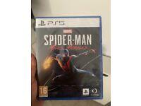 PlayStation 5 - Spider-Man game. Unopened