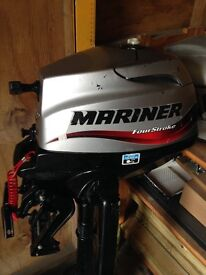 2.5hp four stroke mariner out board