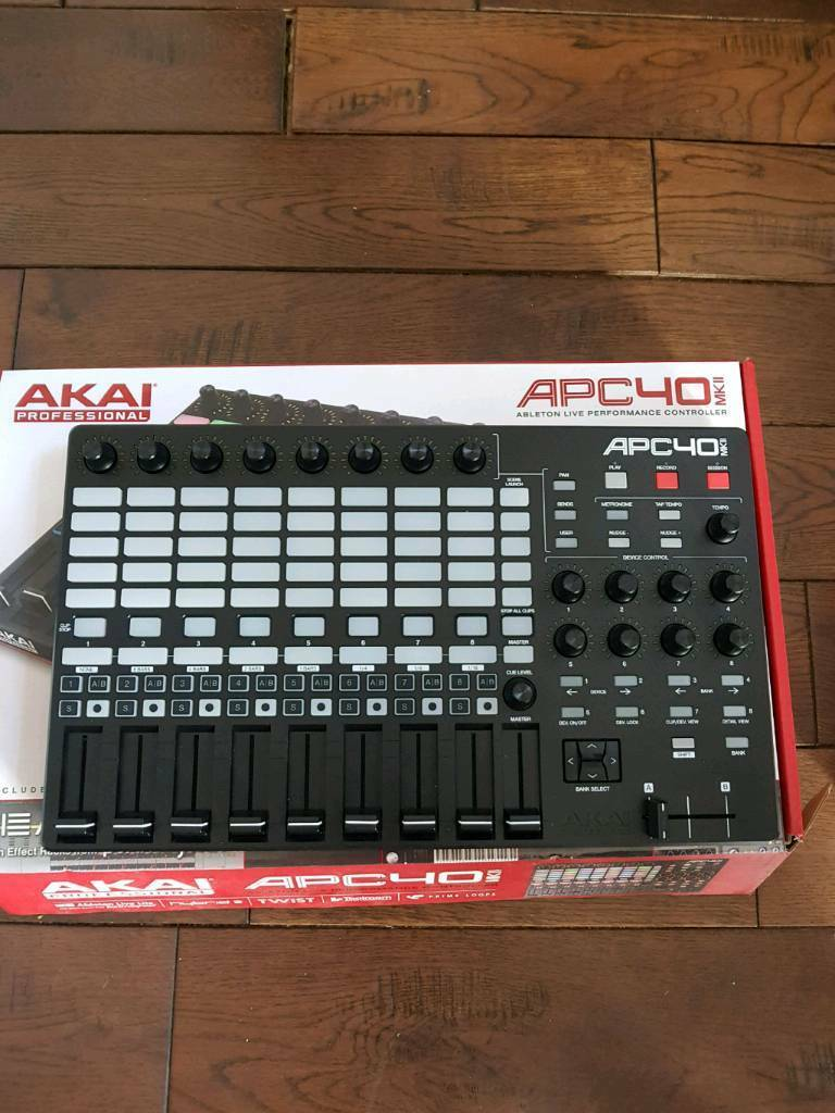 Akai APC40 MK2 & NI Traktor Audio 2 MK2 | in Mitcham, London | Gumtree
