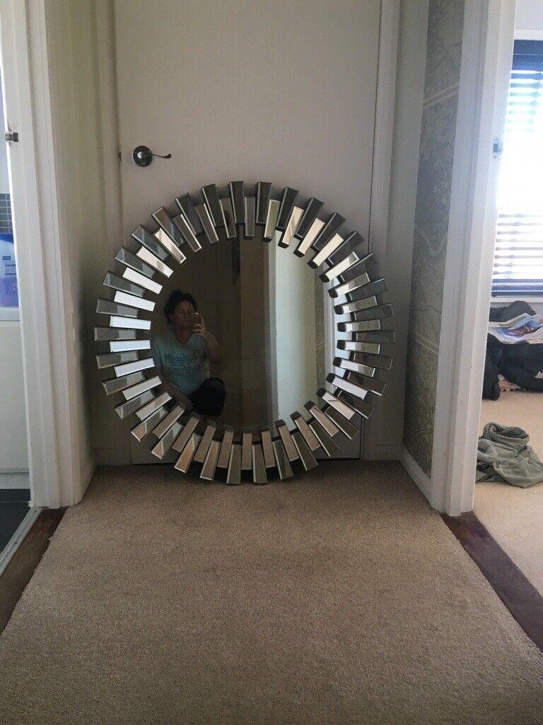 Large Art Deco Style Mirror In Fareham Hampshire Gumtree