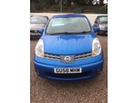 Nissan Note 1.4 **only 74,000 miles**