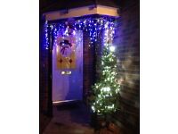 6ft Christmas Tree with Lights