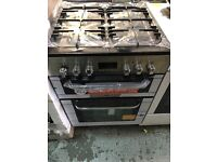 New Graded Bush 60cm Duel Fuel Cooker - Stainless Steel