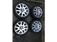 Skoda Fabia VRS alloy wheels