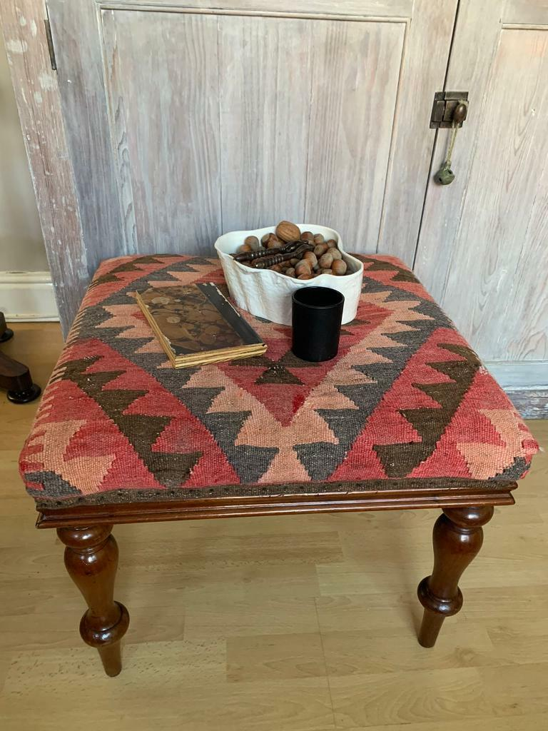Antique Ottoman Coffee Table Kilim Upholstered Footstool In Harborne West Midlands Gumtree