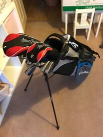 MacGregor Clubs with brand new TaylorMade bag