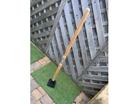 Post and rubble rammer tamper 10 lbs