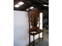 ANTIQUE MAHOGANY HALLSTAND.