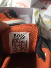 Baby size 3 Hugo boss shoes