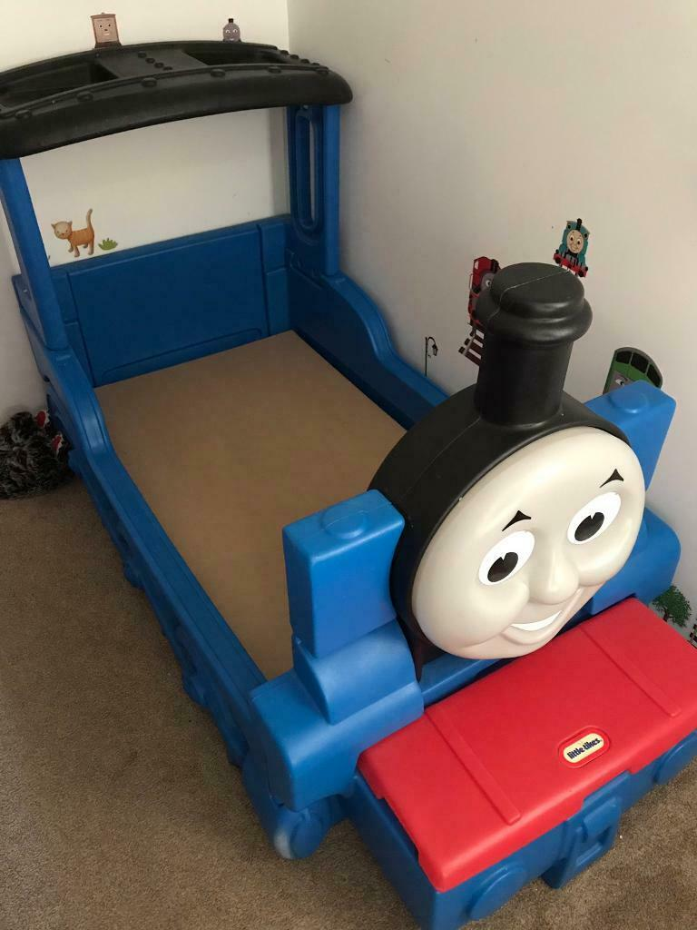 best sneakers 4640e 7a0b2 Little Tikes Thomas and friends train toddler bed | in Ratby,  Leicestershire | Gumtree